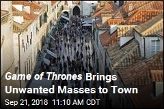 Tourism Threatens Croatia's Game of Thrones Town