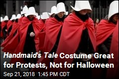 Handmaid's Tale Costume Great for Protests, Not for Halloween