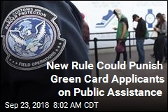 New Rule Could Punish Green Card Applicants on Public Assistance