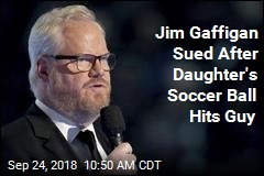 Jim Gaffigan Sued After Daughter's Soccer Ball Hits Guy