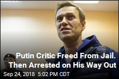 Putin Critic Freed From Jail. Then Arrested on His Way Out