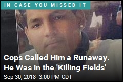 Cops Called Him a Runaway. He Was in the 'Killing Fields'