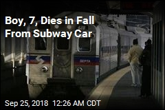 Boy, 7, Dies in Fall From Subway Car