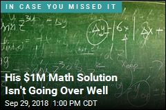 He May Have Solved a $1M Math Problem