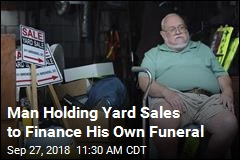 Man Holding Yard Sales to Finance His Own Funeral