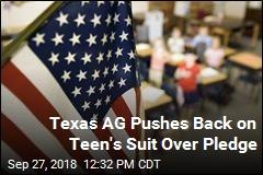 Texas AG Backs School Over Pledge Expulsion