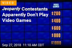 Jeopardy Contestants Apparently Don't Like Video Games