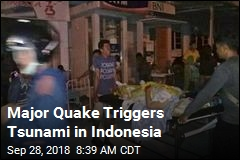 Earthquake Triggers Tsunami in Indonesia