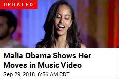 Malia Obama Gets Some Screen Time in Music Video
