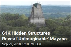 What 61K Unseen Structures Say About the Mayans