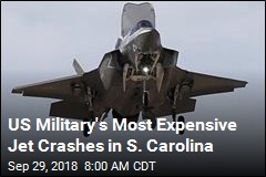 $100M Stealth Jet Crashes in South Carolina