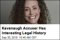 Kavanaugh Accuser Has Filed Legal Claims Before