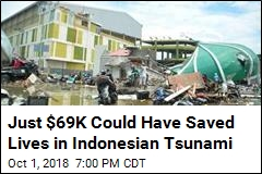 Tsunami Warning System Could Have Saved Indonesian Lives