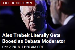 Alex Trebek Literally Gets Booed as Debate Moderator
