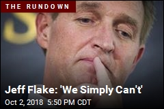 Jeff Flake: 'We Can't Have This'
