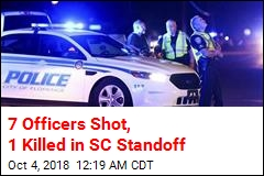 7 Officers Shot, 1 Killed in SC Standoff