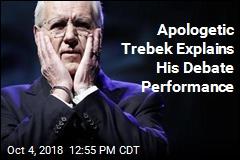 Trebek Says He Didn't Understand Debate Role