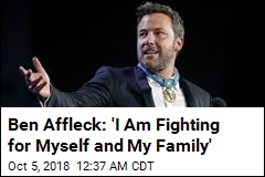 Ben Affleck Thanks Fans, Family After Rehab Stay
