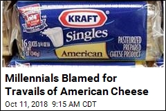 American Cheese Is in Trouble, and Millennials Are Blamed
