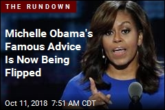 Michelle Obama's Famous Advice Is Now Being Flipped