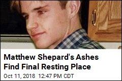 Matthew Shepard's Ashes Being Interred 20 Years Later