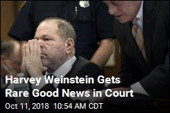 Harvey Weinstein Gets Rare Good News in Court