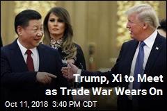 Trump, Xi Jinping Will Meet Next Month