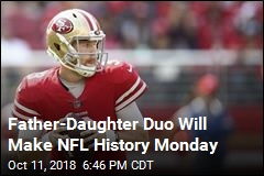 Father-Daughter Duo Will Share NFL Broadcast for First Time