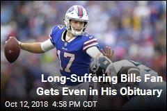 Man Uses Obit to Troll His Beloved Buffalo Bills
