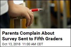 School Sends Sexual-History Survey to Fifth Graders