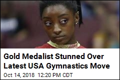 Gold Medalist Stunned Over Latest USA Gymnastics Move