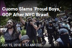 Governor Slams GOP, 'Proud Boys' After NYC Brawl