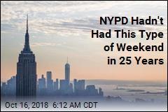 NYC Has First Shooting-Free Weekend in 25 Years