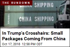 In Trump's Crosshairs: Small Packages Coming From China
