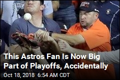 This Astros Fan Is Now Big Part of Playoffs, Accidentally