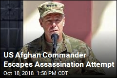 US Afghan Commander Escapes Assassination Attempt