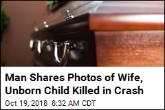 Man Shares Photos of Wife, Unborn Child Killed in Crash