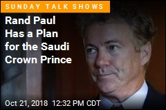 Rand Paul Has a Plan for the Saudi Crown Prince