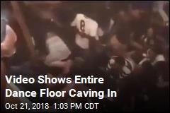 30 Hurt When Floor Collapses