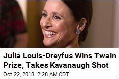 Julia Louis-Dreyfus Wins Mark Twain Prize