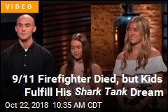 9/11 Firefighter Died, but Kids Fulfill His Shark Tank Dream