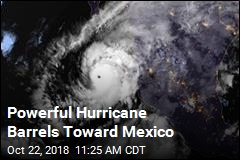 Powerful Hurricane Barrels Toward Mexico