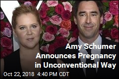 Amy Schumer Embeds Pregnancy Announcement in Political Message