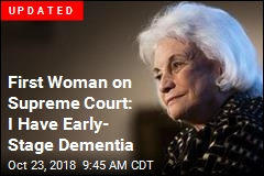 Sandra Day O'Connor Retires From Public Life