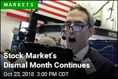 Stock Market's Dismal Month Continues