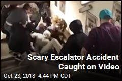 Terrifying Video Shows Escalator Accident That Hurt 20