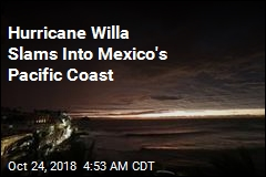 Hurricane Willa Hits Penal Colony, Mexico Mainland