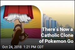 Pokemon Go Gets a Catholic Clone