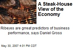 A Steak-House View of the Economy