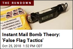 As Mail Bombs Were Found, Cries of 'False Flag' Sprang Up
